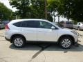 2013 Alabaster Silver Metallic Honda CR-V EX AWD  photo #2
