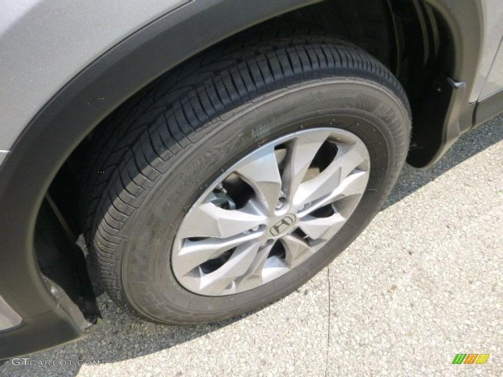 2013 CR-V EX AWD - Alabaster Silver Metallic / Gray photo #9