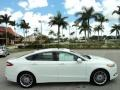 2013 Oxford White Ford Fusion SE 2.0 EcoBoost  photo #5