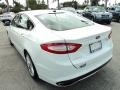 2013 Oxford White Ford Fusion SE 2.0 EcoBoost  photo #9