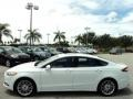 2013 Oxford White Ford Fusion SE 2.0 EcoBoost  photo #12