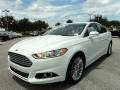 2013 Oxford White Ford Fusion SE 2.0 EcoBoost  photo #13