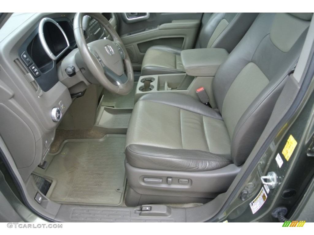Olive Interior 2006 Honda Ridgeline Rtl Photo 84814203