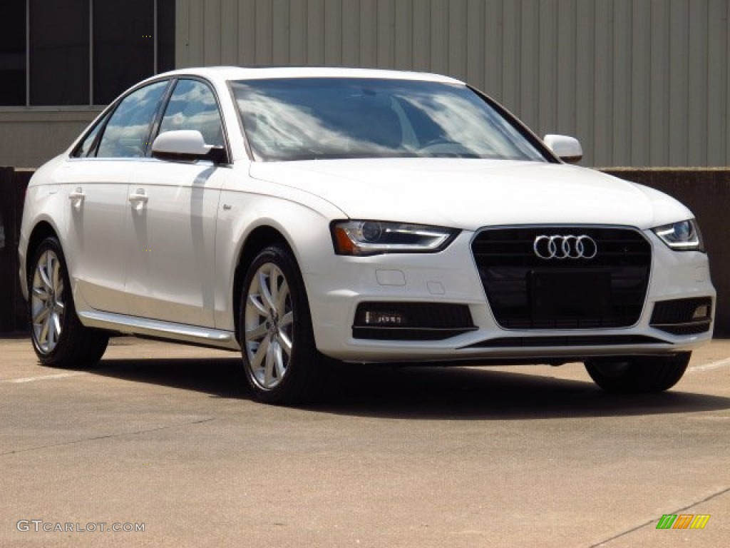 2014 ibis white audi a4 2 0t sedan 84810117 car color galleries. Black Bedroom Furniture Sets. Home Design Ideas