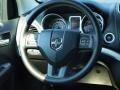 Black/Light Frost Beige Steering Wheel Photo for 2014 Dodge Journey #84820995