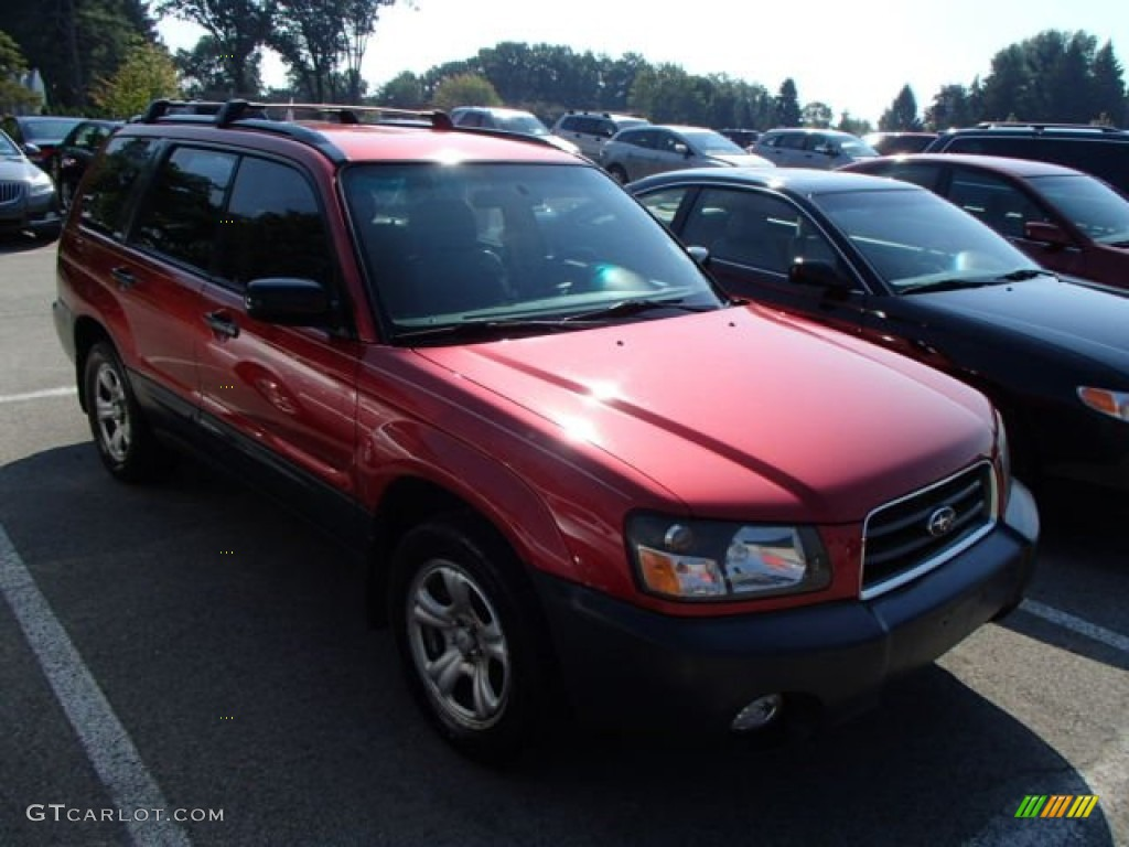 2004 cayenne red pearl subaru forester 2 5 x 84810156 car color galleries. Black Bedroom Furniture Sets. Home Design Ideas