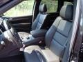 Summit Grand Canyon Jeep Brown Natura Leather Front Seat Photo for 2014 Jeep Grand Cherokee #84836199
