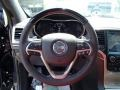 Summit Grand Canyon Jeep Brown Natura Leather Steering Wheel Photo for 2014 Jeep Grand Cherokee #84836403