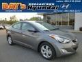 Harbor Gray Metallic 2013 Hyundai Elantra GLS