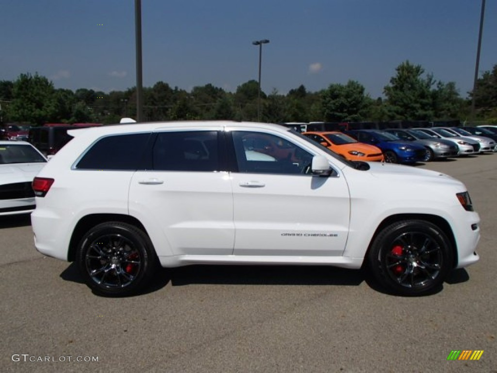 bright white 2014 jeep grand cherokee srt 4x4 exterior photo 84838359. Black Bedroom Furniture Sets. Home Design Ideas