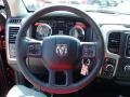 Black/Diesel Gray Steering Wheel Photo for 2014 Ram 1500 #84839128