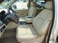 2014 Cadillac Escalade Cashmere/Cocoa Interior Front Seat Photo