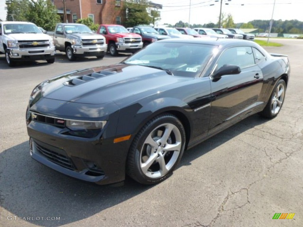 Black 2014 Chevrolet Camaro SS/RS - 167.8KB