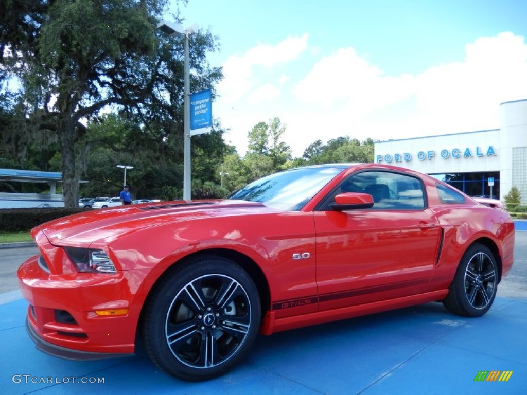 2014 Race Red Ford Mustang Gt Cs California Special Coupe