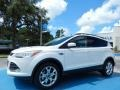 2014 White Platinum Ford Escape SE 2.0L EcoBoost  photo #1