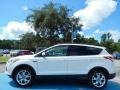 2014 White Platinum Ford Escape SE 2.0L EcoBoost  photo #2
