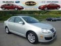 White Gold Metallic 2010 Volkswagen Jetta TDI Sedan