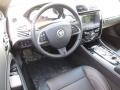 2014 Jaguar XK Warm Charcoal/Warm Charcoal Interior Steering Wheel Photo
