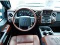 2013 Ford F250 Super Duty King Ranch Chaparral Leather/Black Trim Interior Dashboard Photo