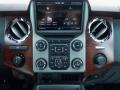 2013 Ford F250 Super Duty King Ranch Chaparral Leather/Black Trim Interior Controls Photo
