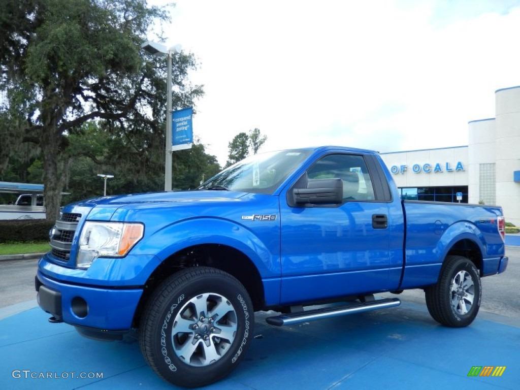 2013 blue flame metallic ford f150 stx regular cab 4x4 84859626 car color. Black Bedroom Furniture Sets. Home Design Ideas