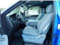 2013 F150 STX Regular Cab 4x4 Steel Gray Interior