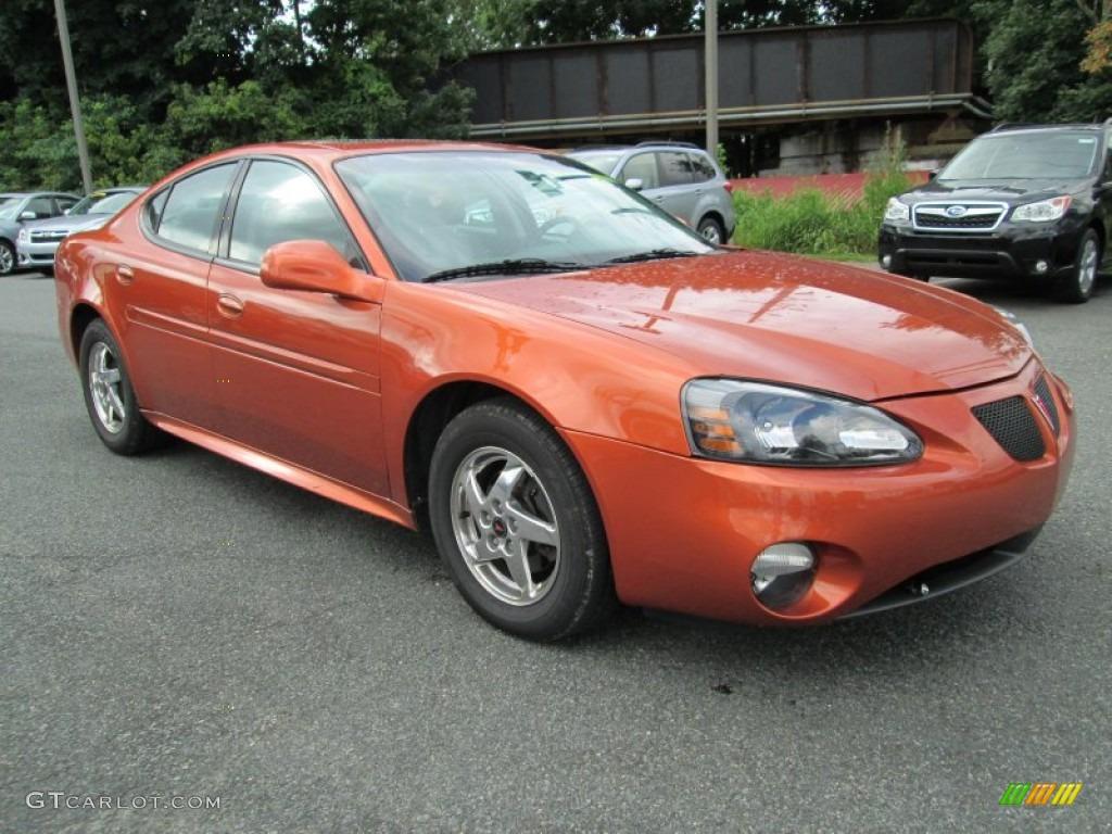 fusion orange metallic 2004 pontiac grand prix gt sedan. Black Bedroom Furniture Sets. Home Design Ideas