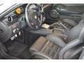 2008 Ferrari 599 GTB Fiorano Black Interior Prime Interior Photo