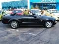 2007 Black Ford Mustang V6 Deluxe Convertible  photo #1