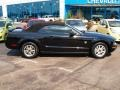 2007 Black Ford Mustang V6 Deluxe Convertible  photo #2