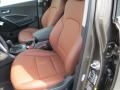 Black Interior Photo for 2013 Hyundai Santa Fe #84899303