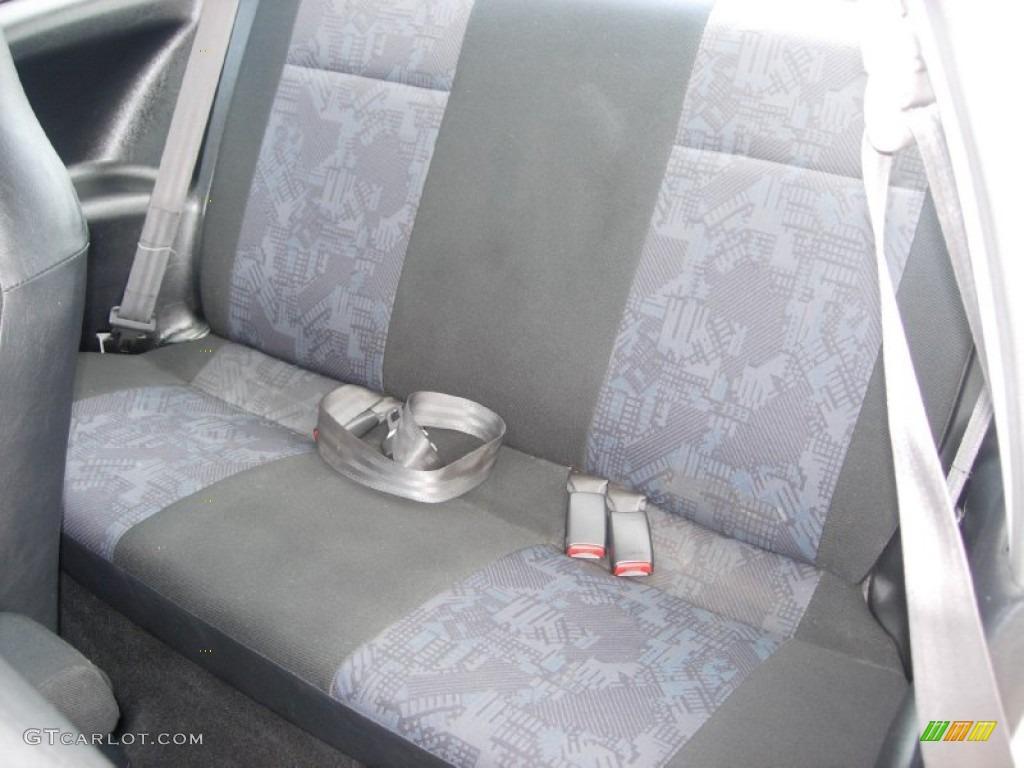 2000 Mitsubishi Mirage DE Coupe Rear Seat Photo #84903581