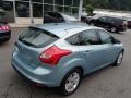 2012 Frosted Glass Metallic Ford Focus SEL 5-Door  photo #8