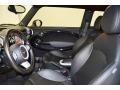 Punch Carbon Black Leather 2010 Mini Cooper Interiors