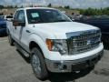 Oxford White 2013 Ford F150 XLT SuperCab 4x4