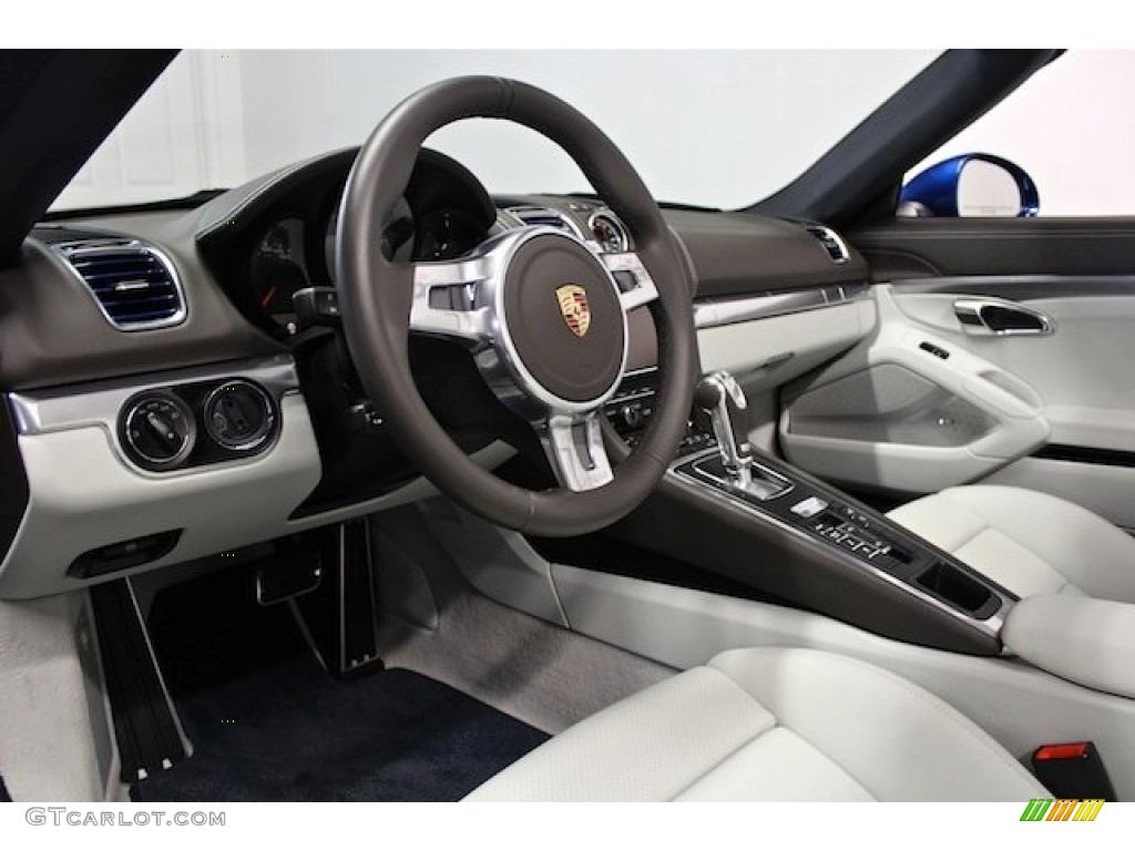Agate Grey/Pebble Grey Interior 2013 Porsche Boxster S Photo