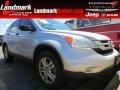 2010 Alabaster Silver Metallic Honda CR-V EX  photo #1