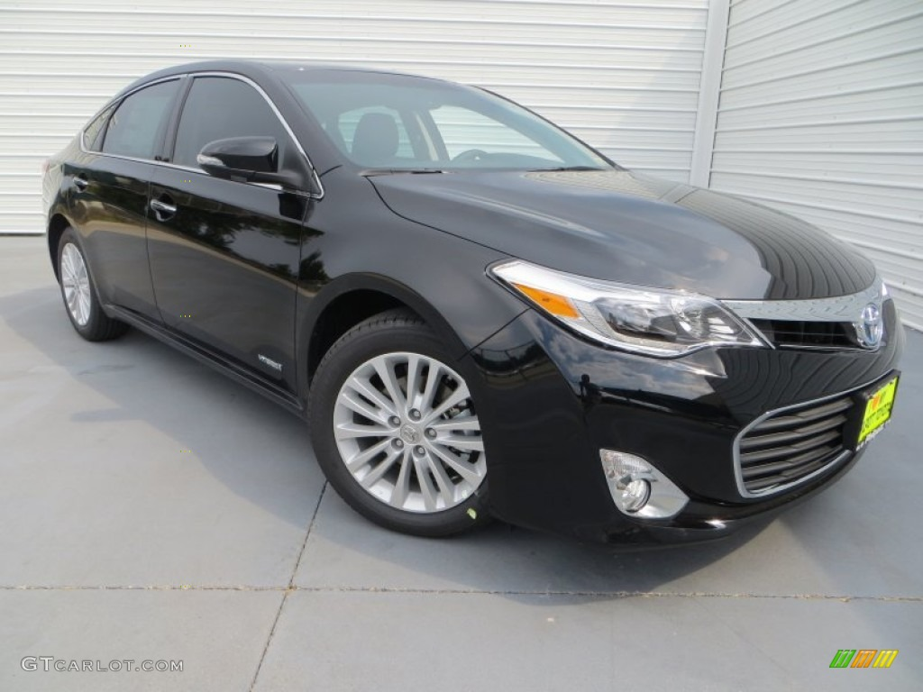 2013 attitude black pearl toyota avalon hybrid limited 84907964 car color. Black Bedroom Furniture Sets. Home Design Ideas