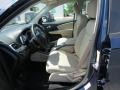 Black/Light Frost Beige Front Seat Photo for 2014 Dodge Journey #84942097
