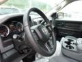 Black/Diesel Gray Steering Wheel Photo for 2014 Ram 1500 #84945334