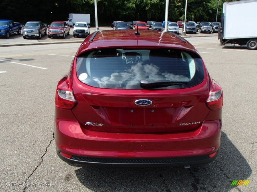 2014 ruby red ford focus titanium hatchback 84907718 photo 7 car color galleries. Black Bedroom Furniture Sets. Home Design Ideas
