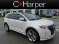 White Platinum Tri-Coat 2011 Ford Edge Sport AWD