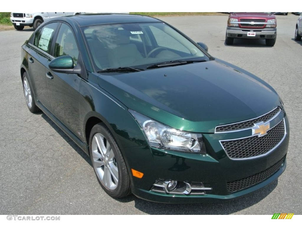 Chevrolet Cruze Trunk Rainforest Green Metallic 2014 Chevrolet Cruze LTZ ...
