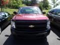 2009 Deep Ruby Red Metallic Chevrolet Silverado 1500 Extended Cab 4x4  photo #2