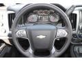 Jet Black/Dark Ash Steering Wheel Photo for 2014 Chevrolet Silverado 1500 #84992889