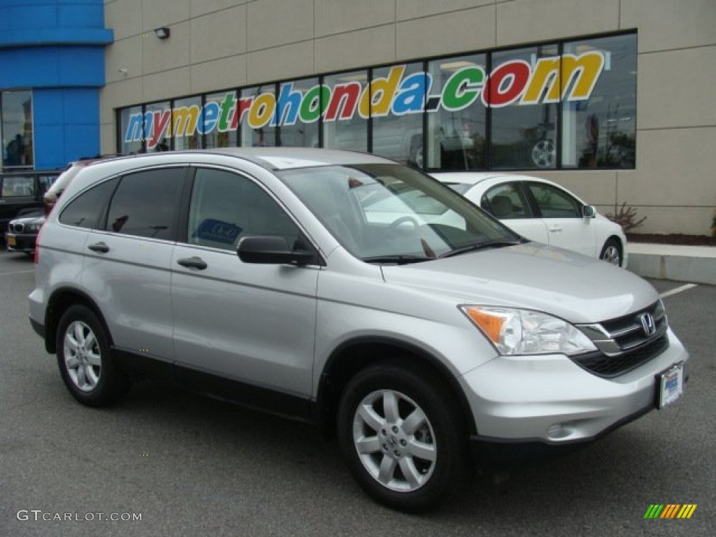 2011 CR-V SE 4WD - Alabaster Silver Metallic / Gray photo #1