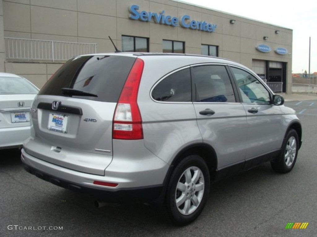 2011 CR-V SE 4WD - Alabaster Silver Metallic / Gray photo #4