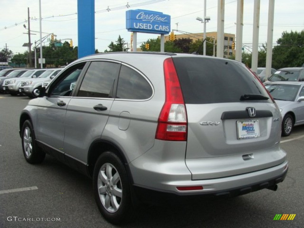 2011 CR-V SE 4WD - Alabaster Silver Metallic / Gray photo #6
