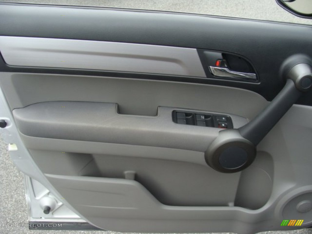 2011 CR-V SE 4WD - Alabaster Silver Metallic / Gray photo #7