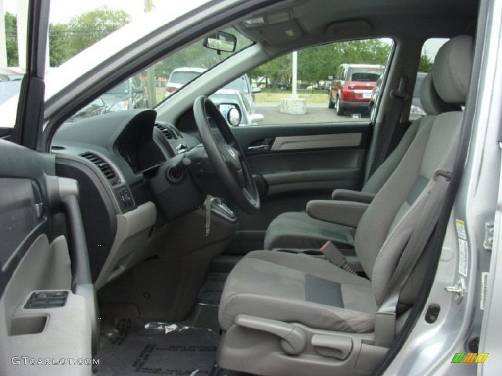 2011 CR-V SE 4WD - Alabaster Silver Metallic / Gray photo #8